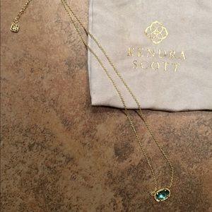 Kendra Scott Elisa Gold Pendant